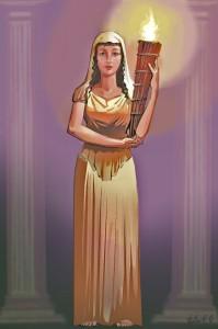 Goddess-Vesta