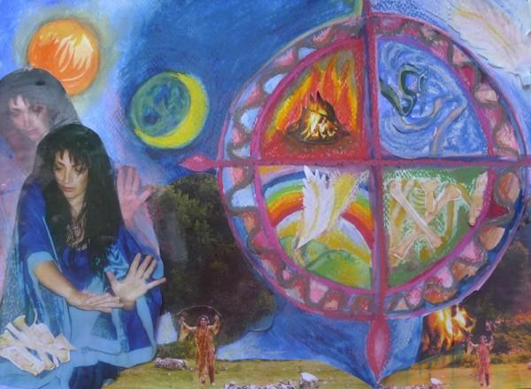 Danza sciamanica, la ruota Medicina e 4 direzioni di guarigione